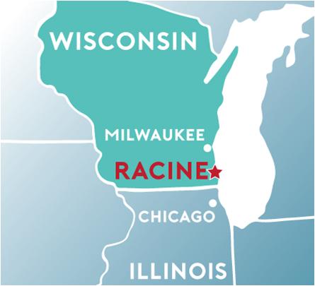 Racine Wisconsin Map.Welcome To The City Of Racine